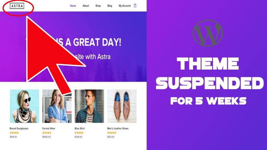 WordPress suspends Astra theme and eliminated repository which affects 1 Million User for 5 Week